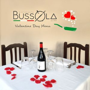 Valentine Day Menu - Bussola Restaurant - Altea